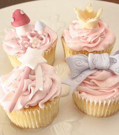 fairy princess cupcakes  ❥ http://pinterest.com/martablasco/