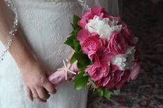 Peonies, Ranunculus and Hydrangias make for a beautiful spring wedding bouquet