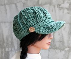 Sage Green Brimster  100 pct Cotton  with WireIn by Threadmill, $37.00