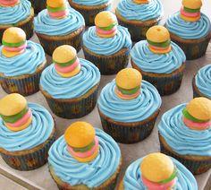 spongebob cupcakes recipe | spongebob krabby patty cupcakes molten lava cake recipe for two ...