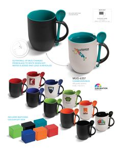 Chameleon Mug - Corporate Gifts - Drinkware on http://www.ignitionmarketing.co.za/corporate-gifts