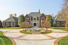 Reggie Miller's Indianapolis area home