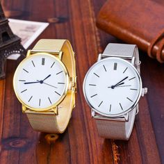 2019 Luxury Women Metal Mesh Watch Simplicity Classic Wrist Fashion Ca – watchforeo Vintage Clothing Stores, Mesh Band, Stainless Steel Mesh, Metal Mesh, Luxury Watches For Men, Business Fashion, Business Style, Fashion Watches, Silver