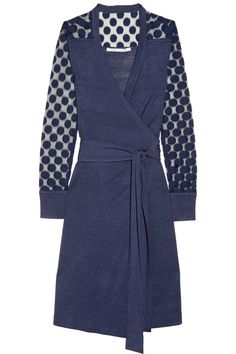 DVF-will my love of wrap dresses ever end:)