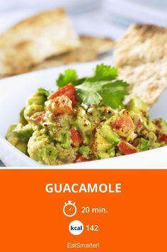 Guacamole - smarter - Kalorien: 142 kcal - Zeit: 20 Min.   eatsmarter.de