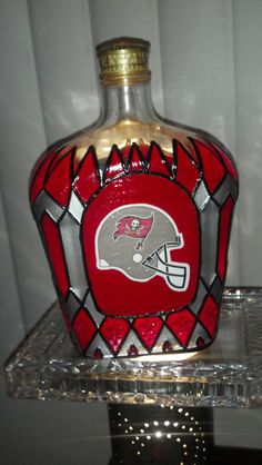 Father's Day Tampa Bay Buccaneers Football Crown by PattiesPassion, $65.99