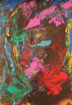 Tim Dayhuff - acrylic on Internet photocopy fixed on board - 8 x 12 in - Jan 2015