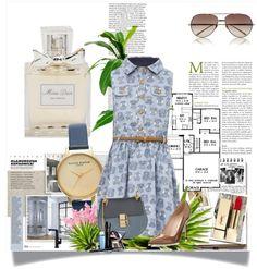 En el look del día: vestido camisero, la prenda ideal del verano. 1.- Perfume Miss Dior http://fashion.linio.com.mx/a/issior