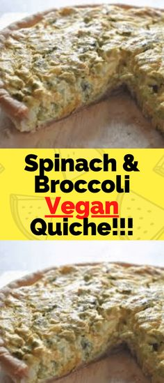 This savory Spinach and Broccoli Vegan Quiche is a &; This savory Spinach and Broccoli Vegan Quiche is a &; Wonderful Food Recipes With Me WonderfulRecipeswithme Vegan Food Recipe This […] vegan side Best Vegan Recipes, My Recipes, Snack Recipes, Free Recipes, Broccoli, Spinach, Vegan Quiche, Recipe Cover, A Food
