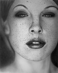 'Irresistible' graphite drawing