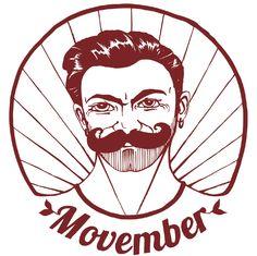 Visuel pour le t-shirt Movember Illustration de Anne HB, ©www. Movember, Illustration, Darth Vader, Mens Tops, T Shirt, Fictional Characters, Dibujo, Tee, Illustrations