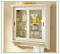 Excellent idea on Bathroom Wall Cabinets1