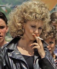 Olivia Newton John in 'Grease', 1978.