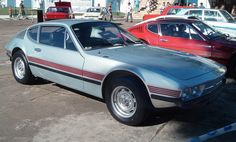 Volkswagen SP2, in the background can be glimpsed a rare Brasinca Uirapuru 4200GT and a Volkswagen Karmann Ghia TC
