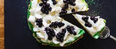 Zac Young makes a tart, creamy and slightly boozy frozen margarita pie.