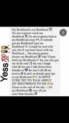 @Almightyjohnson  @Daijaaa15  Got My BestFriends Forever