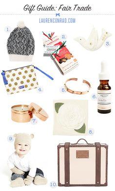 10 #FairTuesday Gift Ideas