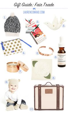 10 #FairTuesday Gift Ideas