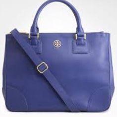 961c8588df9c Authentic Tory Burch 2 Top Zip Handbag Sammy Clothing