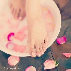 Como cuidar los pies, como curar los talones secos