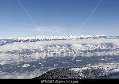 #View From #Top Of #Gold #Corner #Austria #Carinthia #Spittal In #Winter @Alamy #alamy #ktr15 @Daniel Carinzia #season #snow #goldeck #nature #landscape #view #outdoor #stock #photo #portfolio #download #hires #royaltyfree