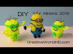 How to Make Minion 2015 - 3D Printing Pen Creations/Scribbler DIY Tutorial - YouTube