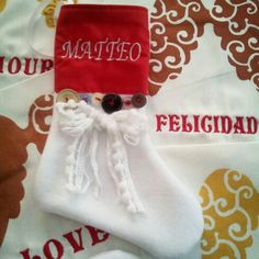 Calze Befana personalizzate...personalizza...handmade ♥♡♥♡