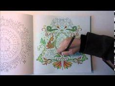 Enchanted Forest - Johanna Basford; Castle & Sword - YouTube
