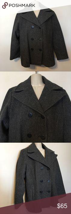 Steve Madden Gray Wool Coat Steve Madden Gray Wool Coat Steve Madden Jackets & Coats Pea Coats
