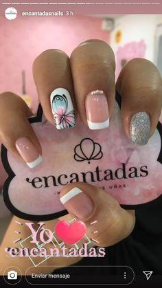 Short Nails, Nail Art, Bling Nails, Work Nails, Long Nail Designs, Short Nail Manicure, Nail Manicure, Simple Elegant Nails, Nail Hacks