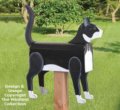 Cat Mailbox Wood Project Pattern