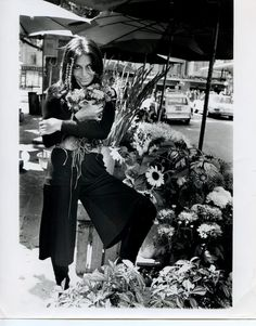 DVF | 1969: Diane makes a flower run in Geneva. #FlashbackFriday