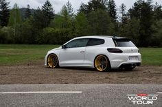 Volkswagen Scirocco R on Vossen wheels.