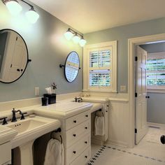 Upgrading your home to stay competitive and current - Jack n jill bathroom ...
