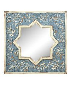 This Boho Rustic Starburst Mirror is perfect! #zulilyfinds