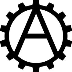 Industrial Anarchism Symbol by BullMoose1912 on DeviantArt