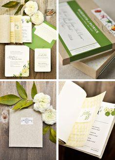 invitation in a box by Oscar & Emma.