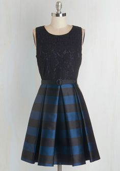Party Person Dress. One glance at you in this sophisticated party dress and all know youve gone glam before.  #modcloth