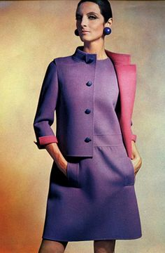 1966 So cute! A little more fitted in the waist would be nice; could wear this today!
