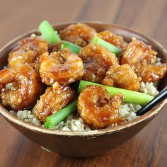 Mongolian Shrimp Recipe by Barbara G - Key Ingredient
