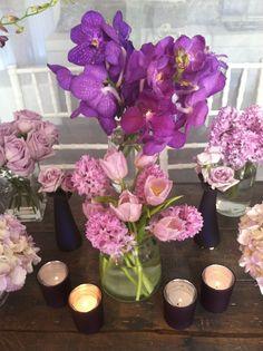 Simple purple #flowers
