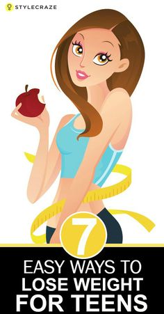 how to lose weight fast for teenage girl at home