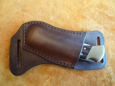 horizontal carry knife sheath.