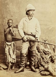 Carte-de-visite of Sir Henry Morton Stanley, - Historical Times Old Pictures, Old Photos, Vintage Pictures, Vintage Images, Lac Tanganyika, Tanzania, Kenya, Pith Helmet, David Livingstone