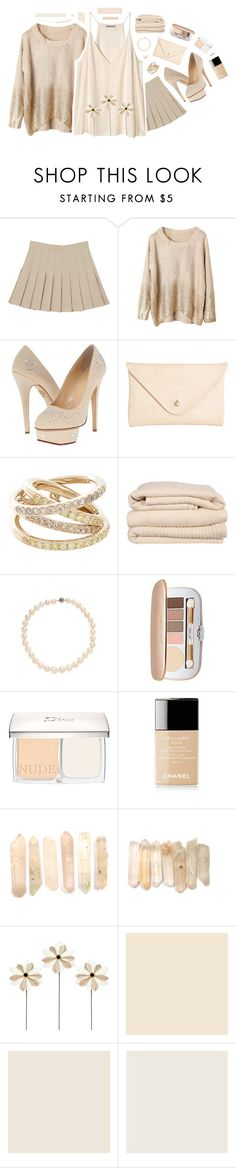 """""""637"""" by glitterals ❤ liked on Polyvore featuring H&M, Charlotte Olympia, Joshu+Vela, Roberto Marroni, Brahms Mount, Belpearl, Jane Iredale, Christian Dior, Chanel and Farrow & Ball"""