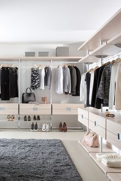 10 Luxury Walk-in Closet Design Ideas That Will Make Your Jaw Drop Walk In Closet Design, Closet Designs, Wardrobe Storage, Wardrobe Closet, Cool Bed Frames, Placard Design, Bed Frame With Drawers, Modern Small House Design, No Closet Solutions