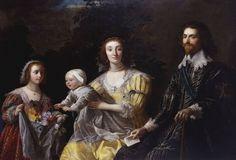 Gerrit van Honthorst (Utrecht 1590-Utrecht 1656) - George Villiers, 1st Duke of Buckingham (1592-1628) with his Family