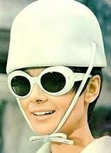 Audrey Hepburn as the inspiration for Johnny Depp's wardrobe in Charlie & the Chocolate Factory .