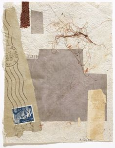 Anne Ryan (1889-1954), collage with fiber and paper
