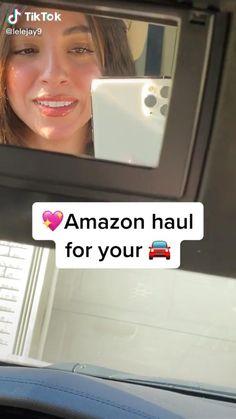 Car Life Hacks, Car Hacks, Useful Life Hacks, Best Amazon Buys, Best Amazon Products, Accessoires Mini Cooper, Car For Teens, Cars For Teenage Girls, Car Interior Decor